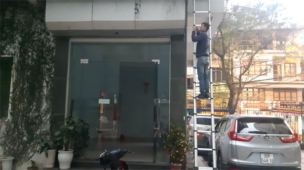 Sửa chữa cửa cuốn tại Kim Mã