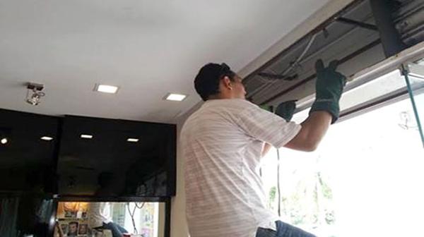 Sửa chữa cửa cuốn tại Liễu Giai