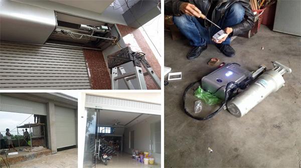 Sửa chữa cửa cuốn tại Ngọc Khánh Uy tín