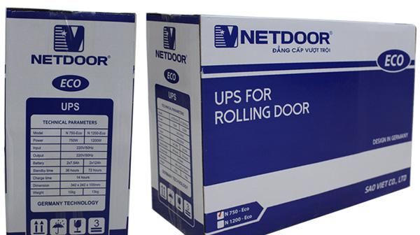 Bình lưu điện cửa cuốn Netdoor có tốt không?